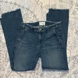 McGuire Denim 15C Distressed staggered hem Jeans